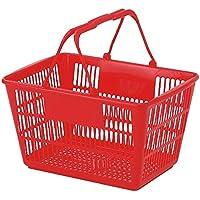 ショッピングバスケット U-17 レッド/62-6380-32