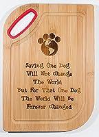 犬Speakカッティングボード–Saving One犬