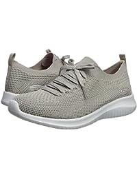 [SKECHERS(スケッチャーズ)] レディーススニーカー?ウォーキングシューズ?靴 Ultra Flex - Statements Taupe 8.5 (25.5cm) C - Wide