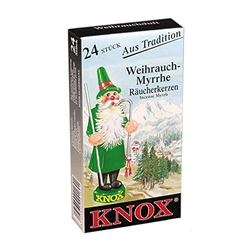 お誕生日うるさいKnox ドイツ製円錐香 ブラック 69 013120