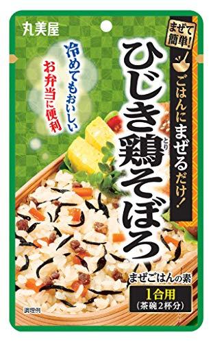 丸美屋食品工業 簡単まぜごはんの素 ひじき鶏 69g ×10個