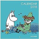 学研ステイフル ムーミン 2018年 カレンダー 壁掛け BLUE BM12043