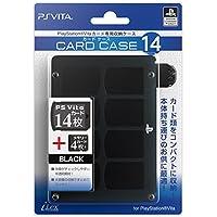 【PlayStationオフィシャルライセンス商品】PSVitaカード専用収納ケース『カードケース14 (ブラック) 』for PlayStation Vita
