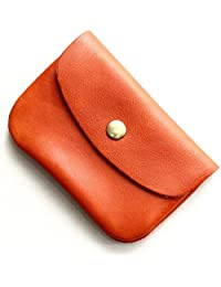 フォコン FAUCON ホークカンパニー パケ メンズ レディース マルチケース 本革 オールレザー 小さい 財布 (12-3410) オレンジ