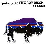 パタゴニア patagonia (パタゴニア)  Fitz Roy Bison Sticker