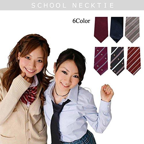 【カラー:エンジストライプ】≪School costume≫...