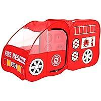 DD子供の再生テント車Game HouseインドアとアウトドアThickening折りたたみピクニックEssential (レッド1407070 CMのパックの1 )