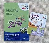 アジア 14ヶ国利用可能 プリペイドSIMカード 3GB 8日間 4G/3G 韓国 台湾 香港 シンガポール マカオ マレーシア フィリピン インド カンボジア ラオス ミャンマー オーストラリア ネパール 日本 SIM2Fly