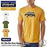 patagonia パタゴニア メンズ フィッツロイベアオーガニックTシャツ S WHI