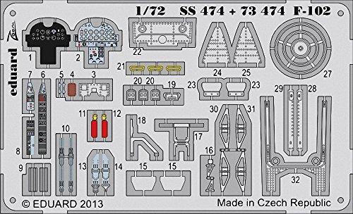 エデュアルド 1/72 F-102 メンモデル用 EDU73474