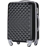 (トラベルデパート) 超軽量スーツケース TSAロック付 ダイヤ柄
