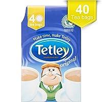 Tetley Tea Bags (40 per pack) テトリーティーバッグ(パックあたり40 )