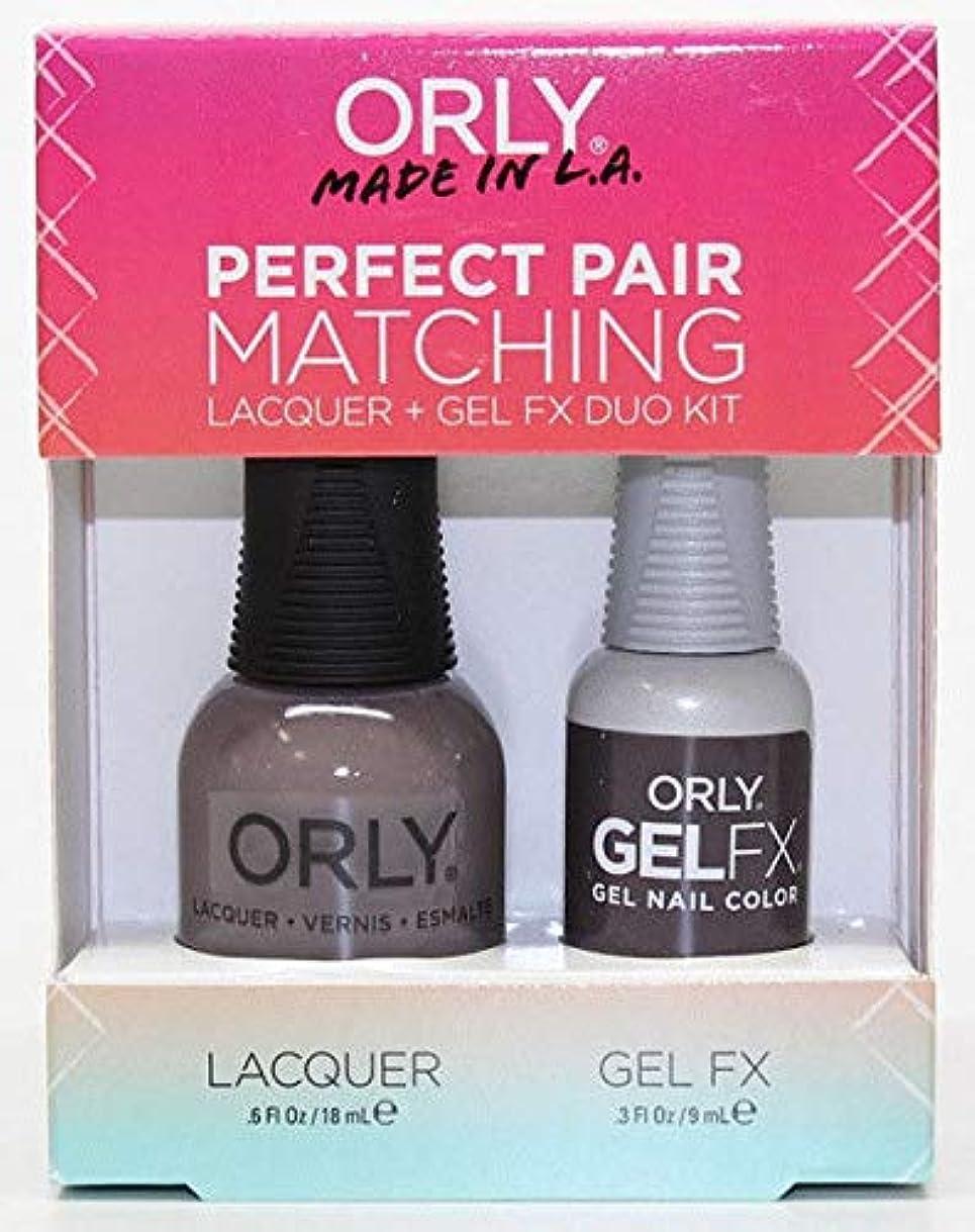 簡単に謝罪する重要なOrly - Perfect Pair Matching Lacquer+Gel FX Kit - Mansion Lane - 0.6 oz / 0.3 oz