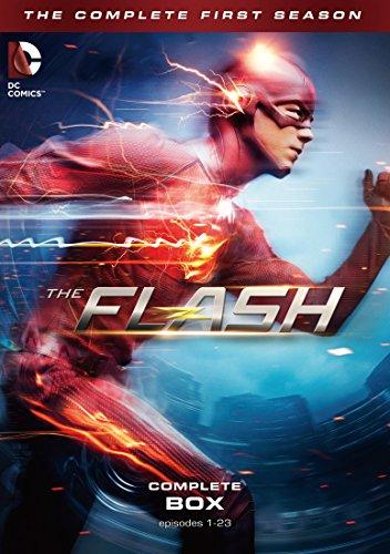 【早期購入特典あり】THE FLASH / フラッシュ 〈ファースト・シーズン〉 コンプリート・ボックス(12枚組)(コミックブック付き〈フラッシュ版〉) [DVD]