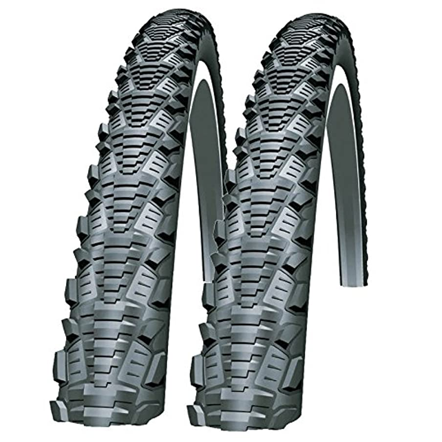 熱調査狂うSchwalbe CX Comp 700 x 30c Bike Tyres (Pair)