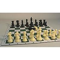 Tournament Men and Mat Chess Set, 4