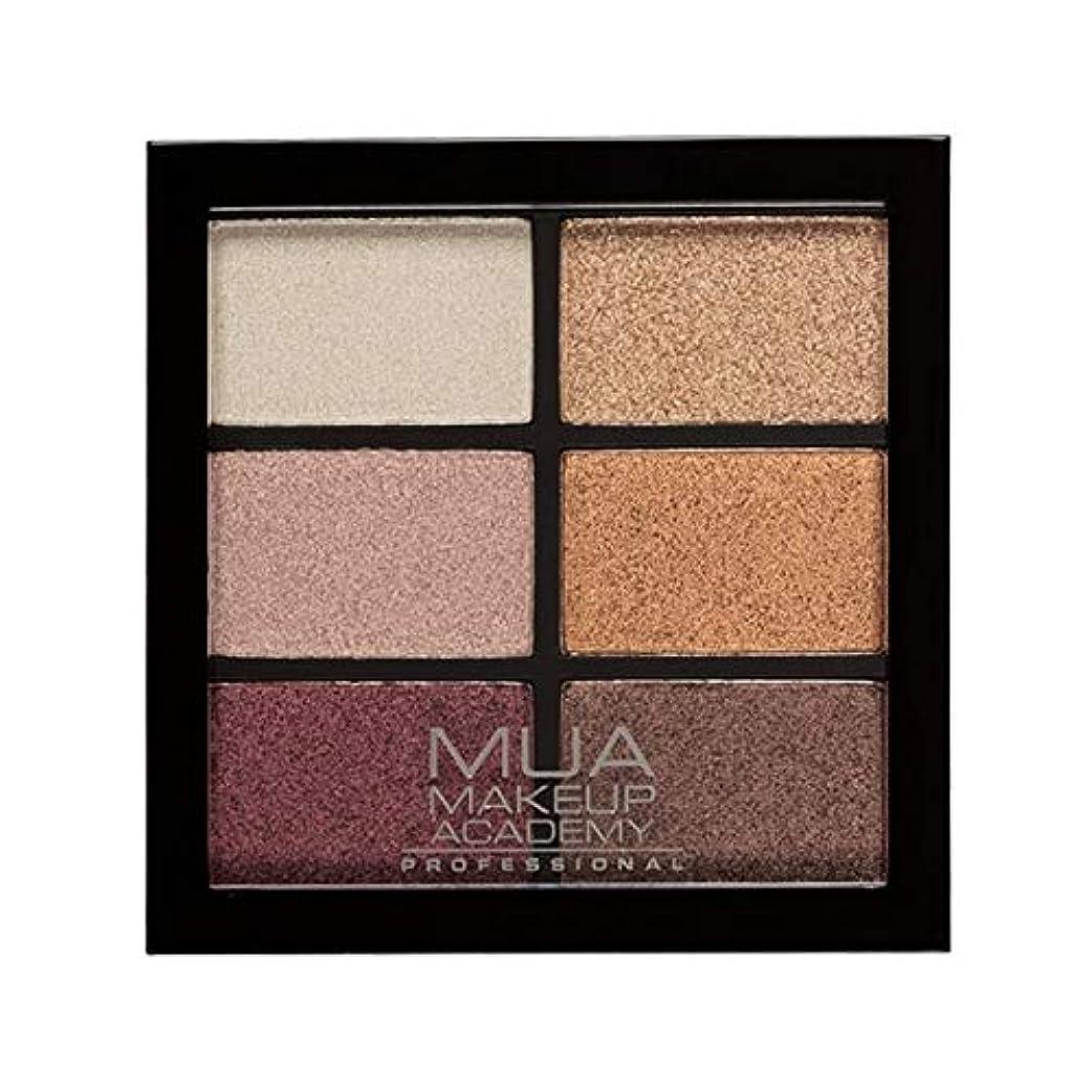 骨の折れるビジネス好奇心盛[MUA] Muaプロ6日陰パレット錆びた不思議 - MUA Professional 6 Shade Palette Rusted Wonders [並行輸入品]