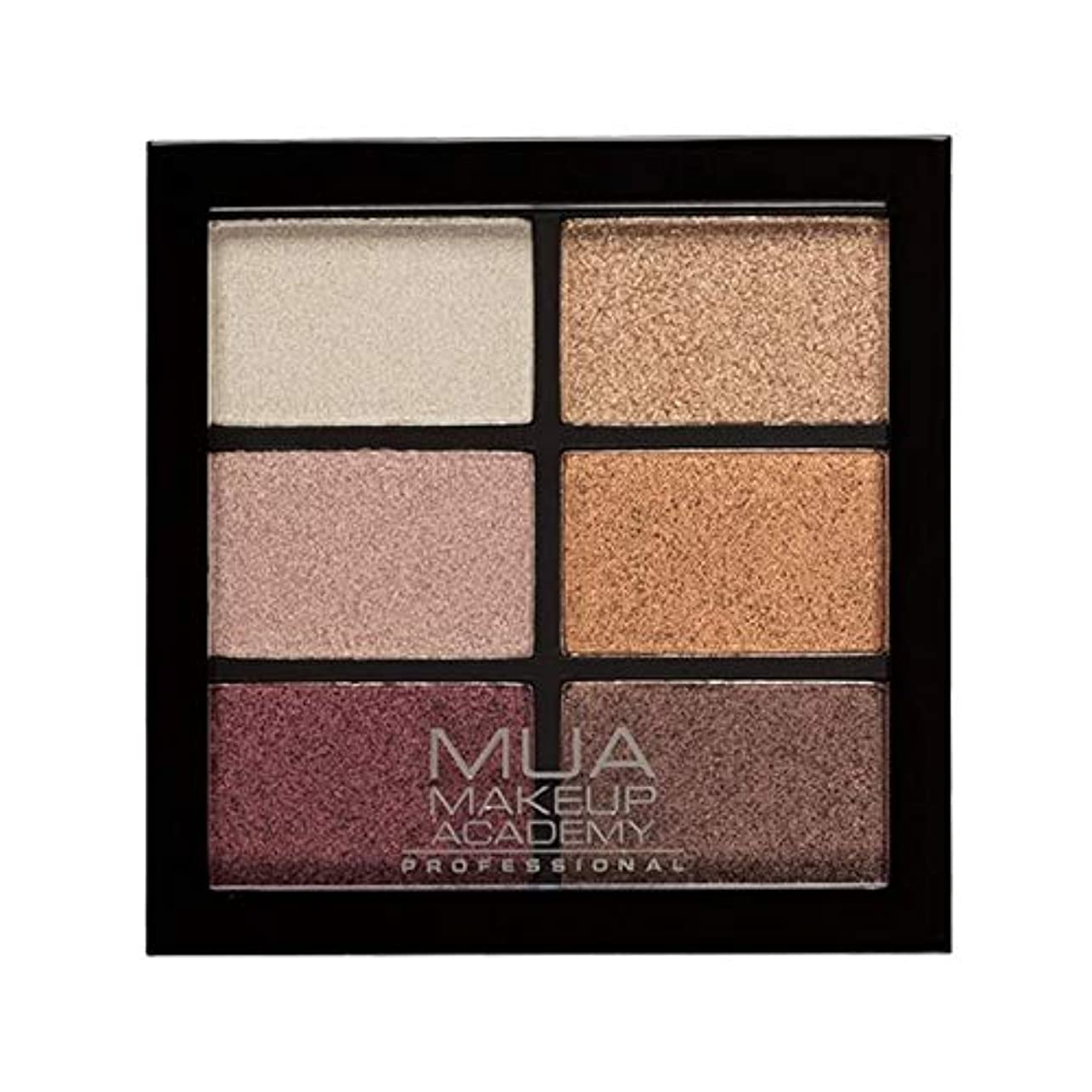 装置電子ショップ[MUA] Muaプロ6日陰パレット錆びた不思議 - MUA Professional 6 Shade Palette Rusted Wonders [並行輸入品]