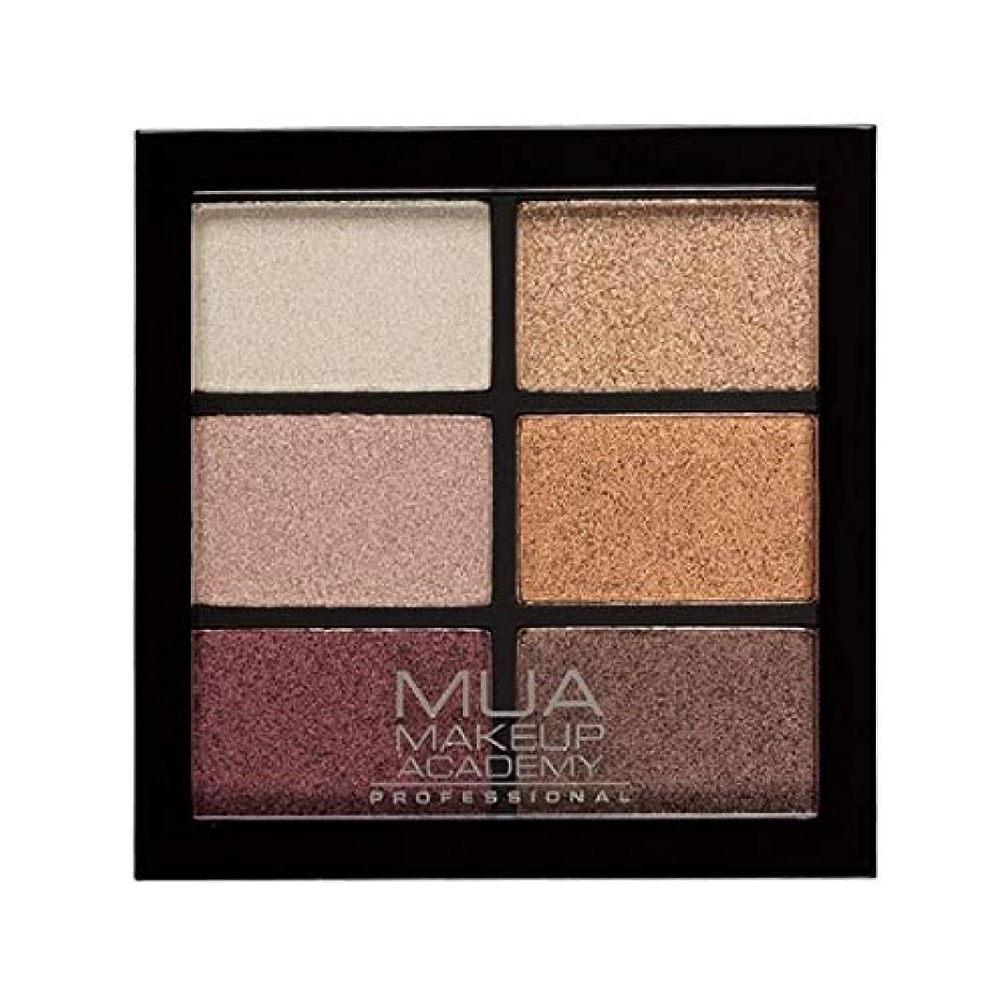 裁定ちょっと待って岸[MUA] Muaプロ6日陰パレット錆びた不思議 - MUA Professional 6 Shade Palette Rusted Wonders [並行輸入品]