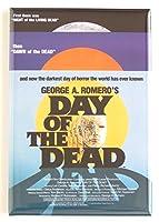 Day of the Deadムービーポスター冷蔵庫マグネット( 2x 3インチ)