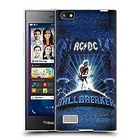 オフィシャル AC/DC ACDC ボールブレーカー アルバム・アート BlackBerry Leap 専用ソフトジェルケース