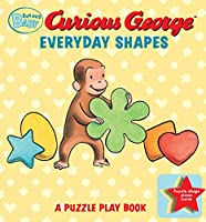 Curious Baby Everyday Shapes Puzzle Book: A Puzzle Play Book (Curious Baby Curious George)