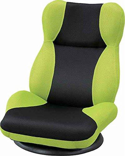 座椅子 パーソナルチェア 回転式 リクライニング ♪東谷家具 カーズ バケットリクライナー THC-101GR <W61×D60~120×H75×SH15cm> 【AZUMAYA】 インテリア家具 ファミリー 一人暮らし シンプル おしゃれ