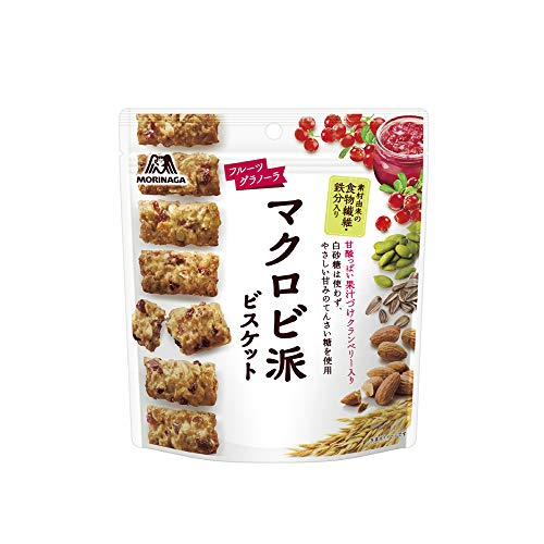 森永製菓 マクロビ派ビスケット<フルーツグラノーラ> 100g×5袋