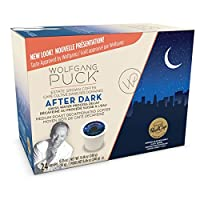 Wolfgang Puck Decaf Coffee for Single Serve Cups, After Dark, 24 Count by Wolfgang Puck