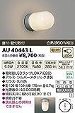 コイズミ照明 LED防雨型ブラケット直付・壁付両用型(白熱球60W相当)電球色 AU40443L