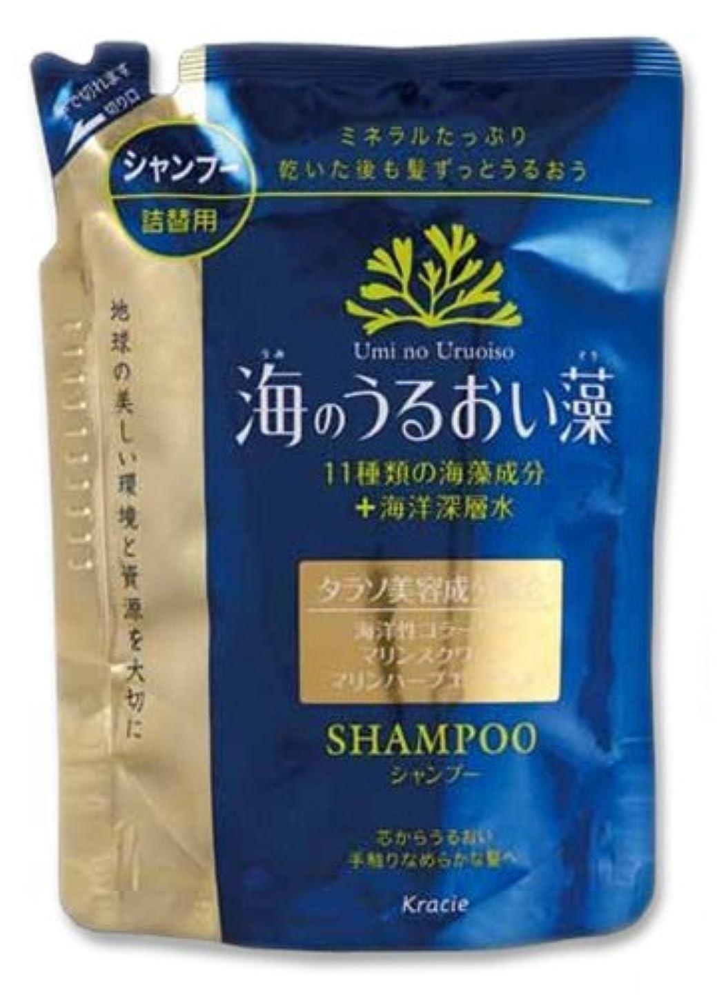 ページェント貞美人クラシエ 海のうるおい藻 シャンプー 詰替用 420ml ×16点セット (4901417759221)