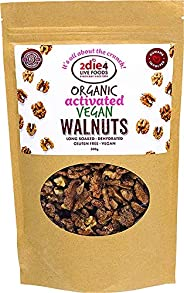 2Die4 Live Foods Activated Organic Walnuts 300 g,