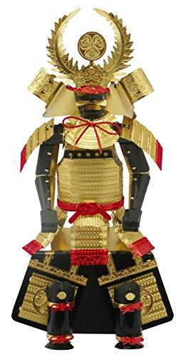 [해외]금속 나노 퍼즐 멀티 컬러 갑옷 도쿠가와 이에야스/Metallic Nano Puzzle Multi Color Armor Tokugawa Ieyasu