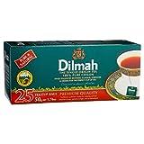25?Tea Bags Pure Ceylonプレミアム品質Single原点ブラックTea Dilmah 50?g 1.7ozスリランカ