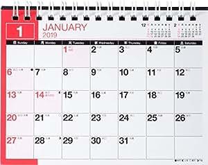 高橋 2019年 カレンダー 卓上 A6 E136 ([カレンダー])
