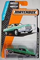 MATCHBOX MBX ADVENTURE CITY BLACK/GREEN '69 CADILLAC SEDAN DEVILLE 12/120