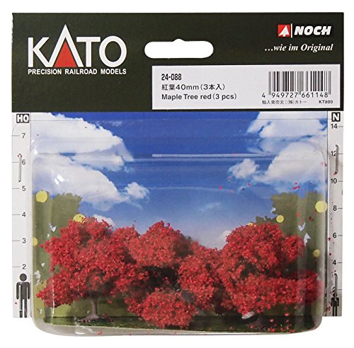 KATO Nゲージ 紅葉40mm 3本入 24-088 ジオ...