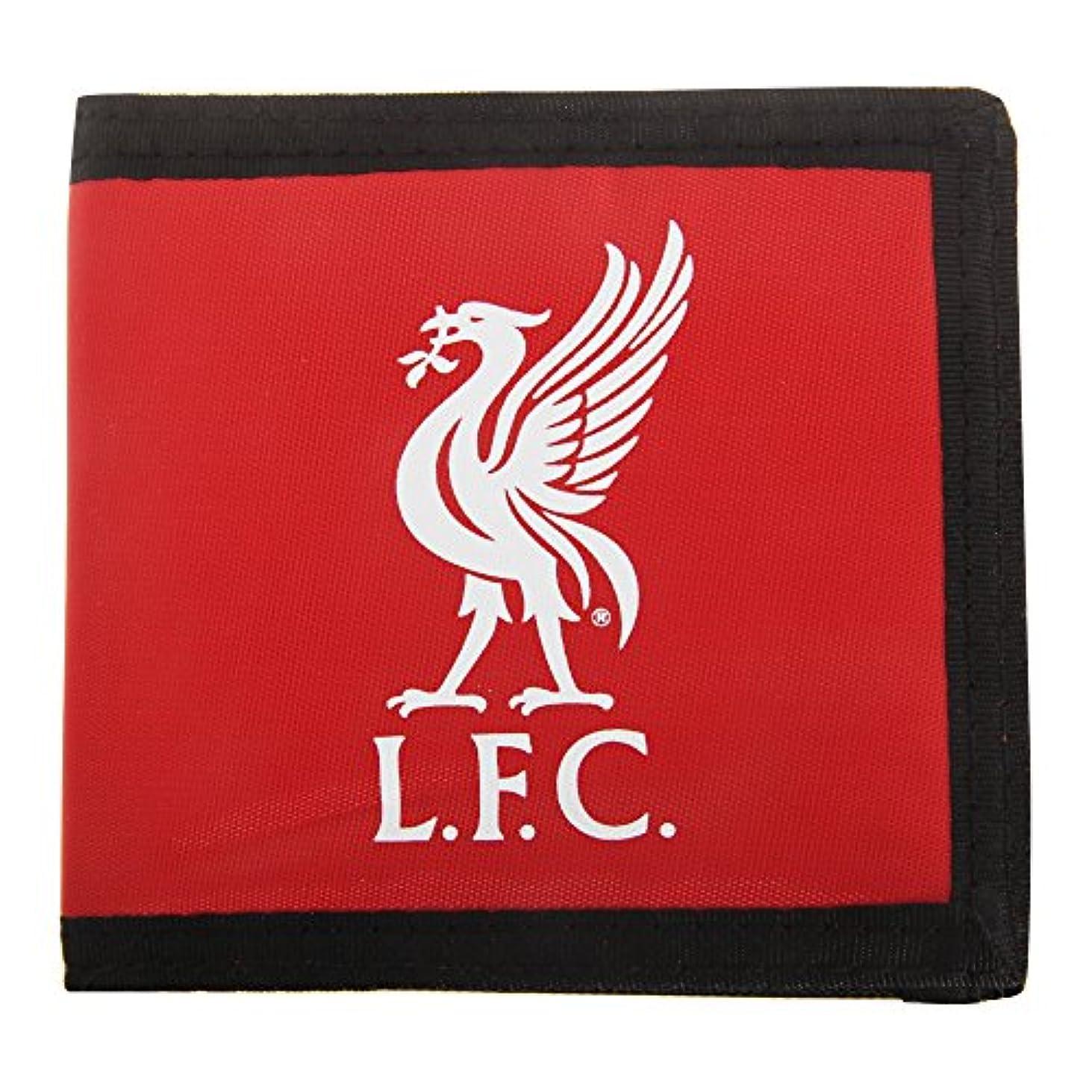 アプト貫通する液体リバプール フットボールクラブ Liverpool FC オフィシャル商品 ナイロン 財布 ウォレット