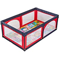 ベビーサークル 赤ちゃんの遊び場の安全フェンス、子供の遊びのフェンス屋内の赤ちゃんのクローリング幼児のフェンスの赤ちゃんのホームプレイグラウンド (サイズ さいず : 150x190cm)