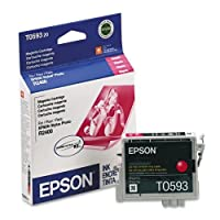 Epson America t059320 t059320 UltraChrome k3インク、450 page-yield、マゼンタ