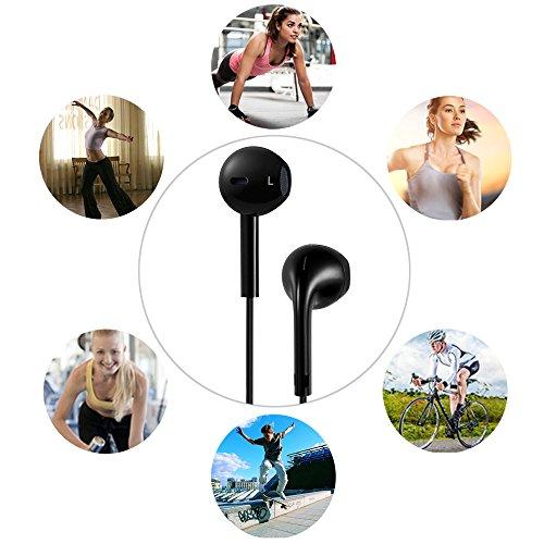 GRDE ワイヤレスイヤホン Bluetooth 4.1スポーツイヤホン マイク内蔵 ワイヤレスヘッドフォン カナル型 耐汗 ノイズキャンセリング機能搭載 (ブラック)