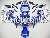ホワイトパールブルーレッド外装部品セット適応フィッ 完全なのオートバイはヤマハR6 YZF600 03 04 R6S 06-09 2007 2008 2009 ABSプラスチック射出カウル