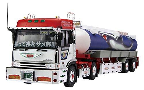 1/32 バリューデコトラシリーズNo.30 二代目鮫肌慕情(大型タンクローリートレーラー)