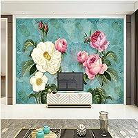 Hershop カスタムメイドのホームセンターインテリア3D壁紙-400X280CM