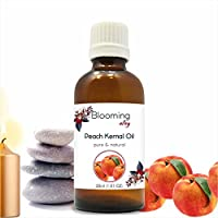 Peach Kernel Oil (Prunus Persica) Carrier Oil 30 ml or 1.0 Fl Oz by Blooming Alley