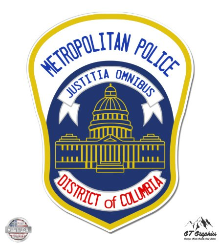 Washington DC Police Metropolitan Police District of Columbia???ビニールステッカー防水デカール
