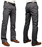 (ラ プレス) la presse メンズ チノパン カジュアル パンツ ボトムス ズボン ロング 大きい 604 (グレー(36))