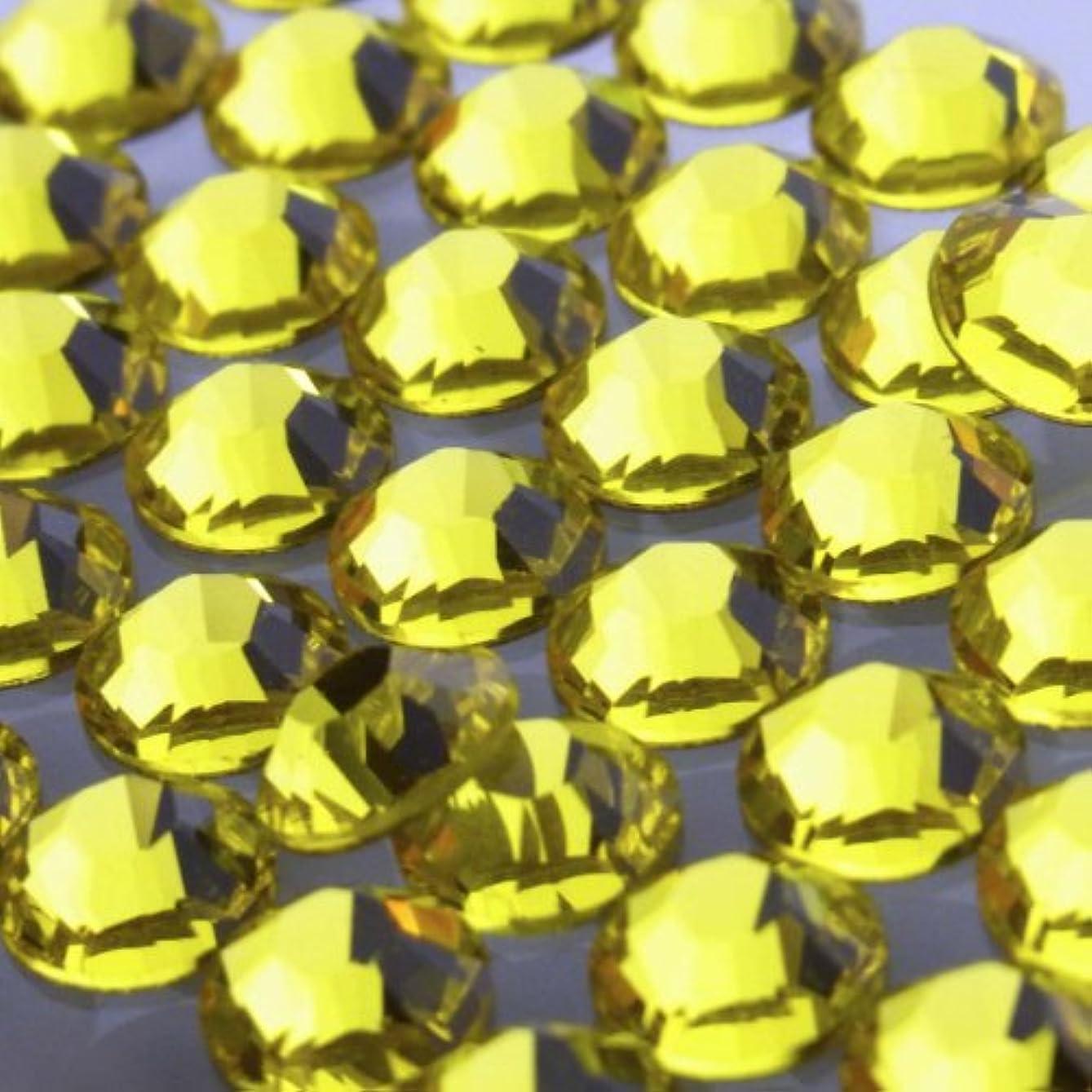 副産物のため荒涼としたHotfixシトリンss16(100粒入り)スワロフスキーラインストーンホットフィックス