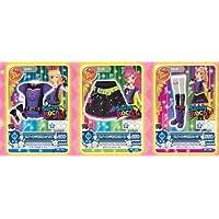 【アイカツ】アイカツフォンスマート春のキャンペーン限定カード(スイートデビルの星座ドレス3枚セット)