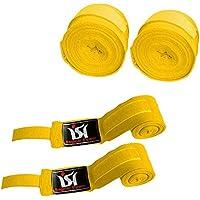 Ishボクシング総合格闘技ハンドラップ包帯手首保護Fist MMAイエローペア